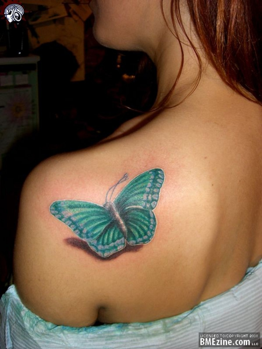 Beautiful About Butterfly Tattoos For Girls