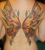 Beautiful Butterfly Tattoo Designs For Girls Large Size (NFSW)