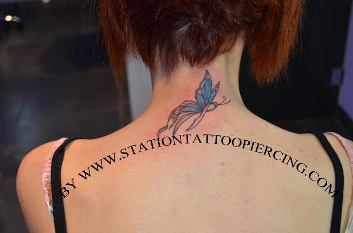 Cool Butterfly Tattoo Female Back Butterfly Tattoos