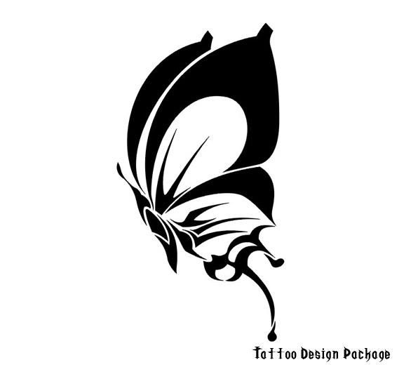 Drawing Butterfly Tattoos Design Tattoomagz Tattoo Designs