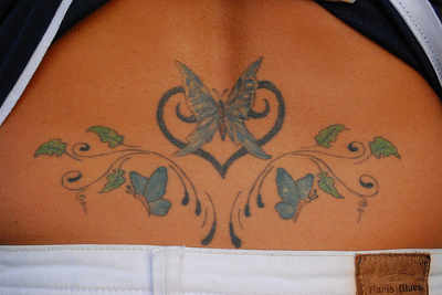 Cool Lower Back Tattoo Pictures