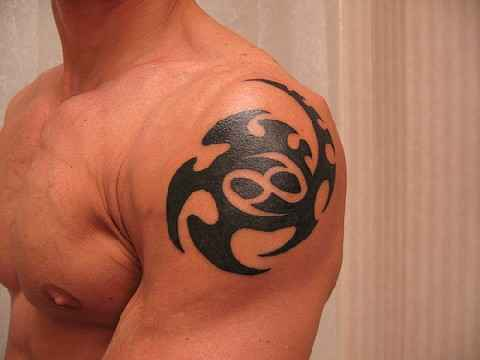 Astrology Tatoos For Men Pictures Gallery