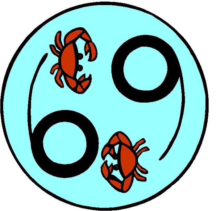 Permanent Cancer Zodiac Crab Tattoo