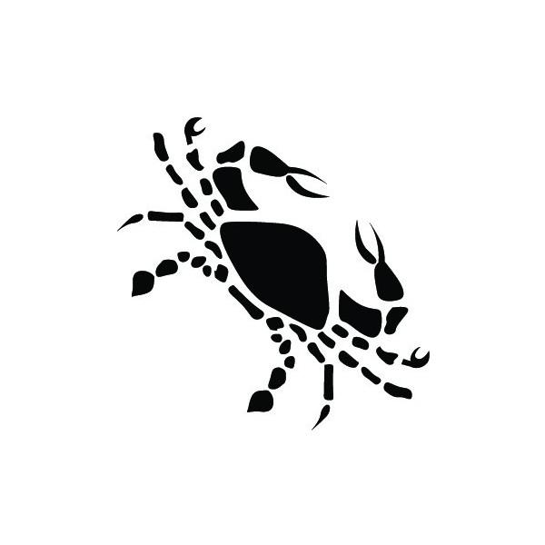 Zodiac Cancer Inkwear Drawing Design