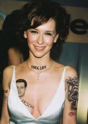 Beauty Female Wrist Tattoo from Hollywood Celebrities