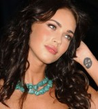 Sexy Wrist Celebrity Tattoos by Megan Fox