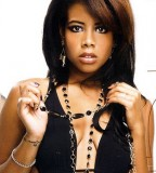 Sexy Kelis Celebrities with Art Wrist Tattoo