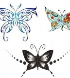 Beauty  Butterfly Celtic Tattoo Sketch Ideas