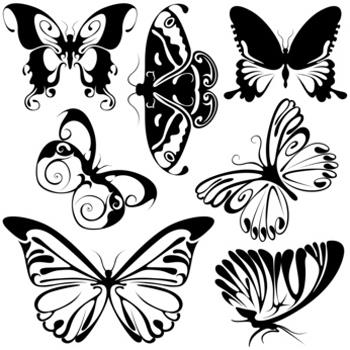 Celtic Butterfly Tattoo Sketch Design Ideas
