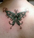 Celtic Knot Butterfly Tattoo Design Ideas