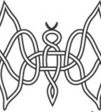 Celtic Knot Butterfly Tattoo Sketch