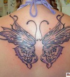 Remarkable Celtic Butterfly Tattoo Design