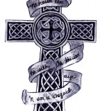 Celtic Cross Interfaces Tattoo Design 2011