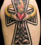 Heart Love Celtic Cross Tattoo Pictures