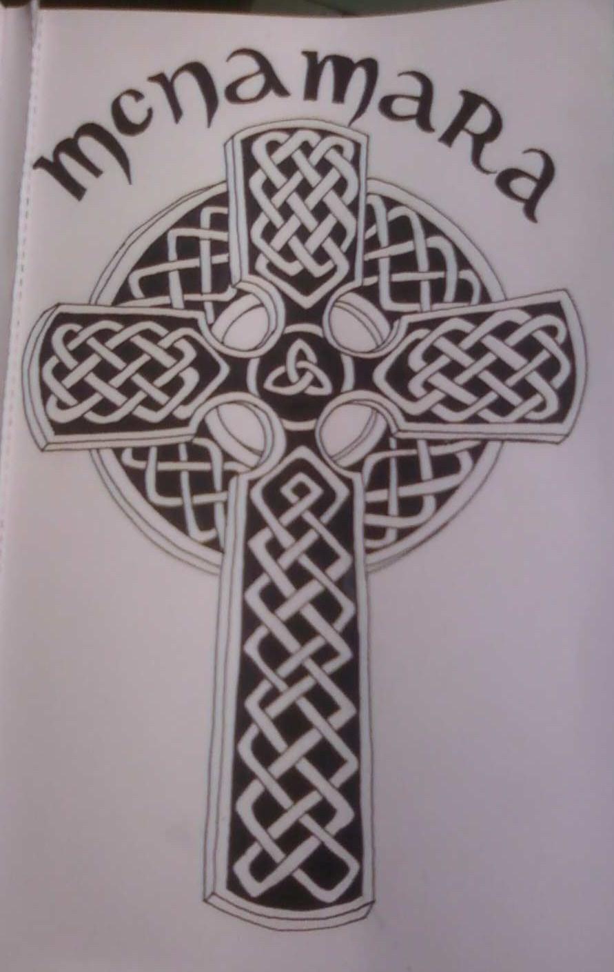 Celtic Cross Tattoo Mcnamara Pictures