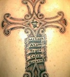 Heavenly Tattoos Celtic Cross Tattoos Designs