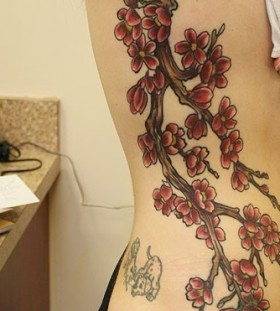 Fancy Meaning Japanese Cherry Blossom Tattoo