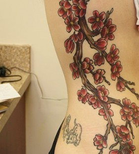 Meaning Japanese Cherry Blossom Tattoo