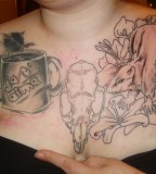 Rat Chest Piece Design for Women by Simplytattoo (NSFW)