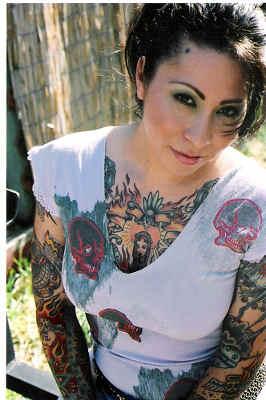Women Chest Tattoos Design Ideas