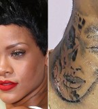 Rihanna and Chris Browns Tattoo