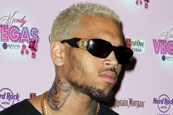 """Chris Brown's """"Beatenup Woman"""" Neck Tattoo – Celebrity Tattoos"""