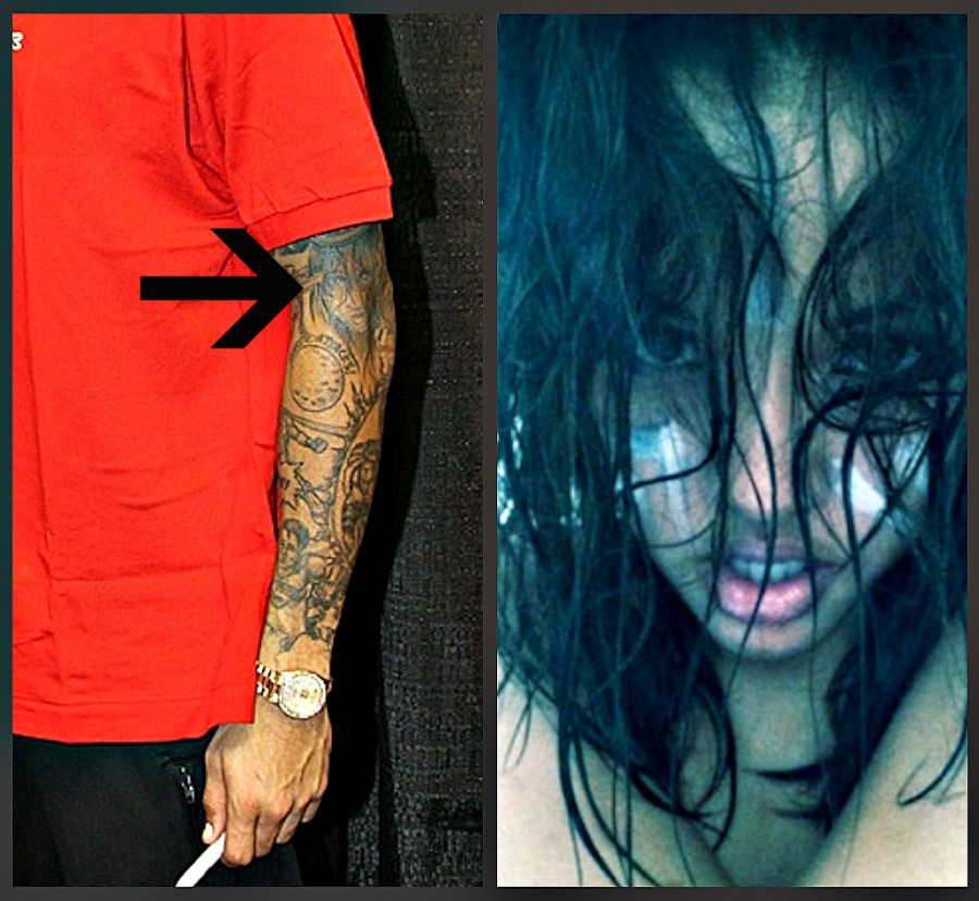 Chris Brown's Sleeve Tattoos Madame Noire Black Womens