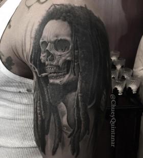 chueyquintanar-bob-marley-skull-tattoo