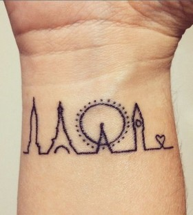 city tattoo for women