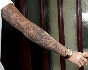 Amazing Clouds Tattoo Design for Men
