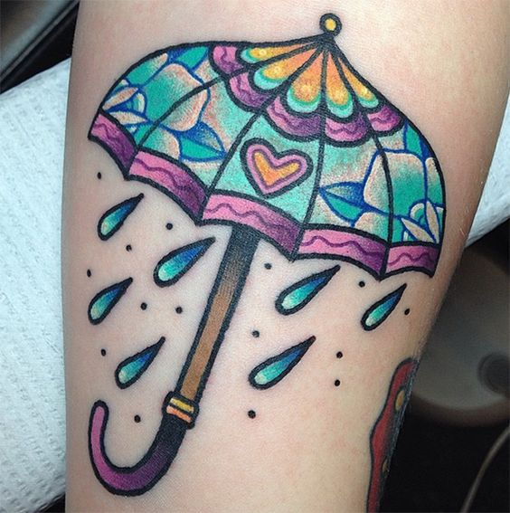 colorful-umbrella-autumn-tattoo