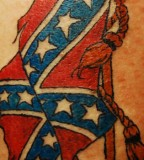 25 Magnificent Rebel Flag Tattoos
