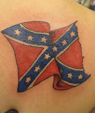 Confederate Flag Tattoo Stock Photo 460065shutterstock