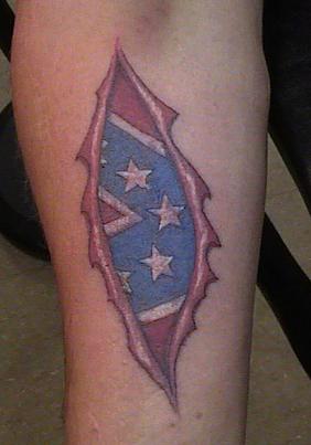 Confederate Flag Tattoos Design4