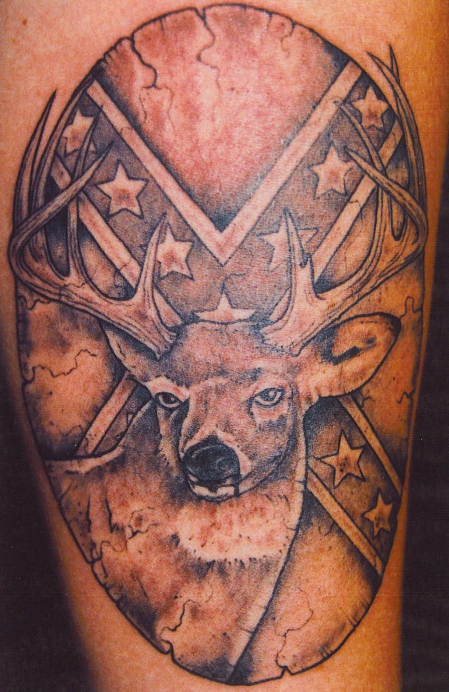 My Tattoo Designs Confederate Flag Tattoos