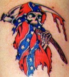 My Tattoo Designs Confederate Flag Tattoos