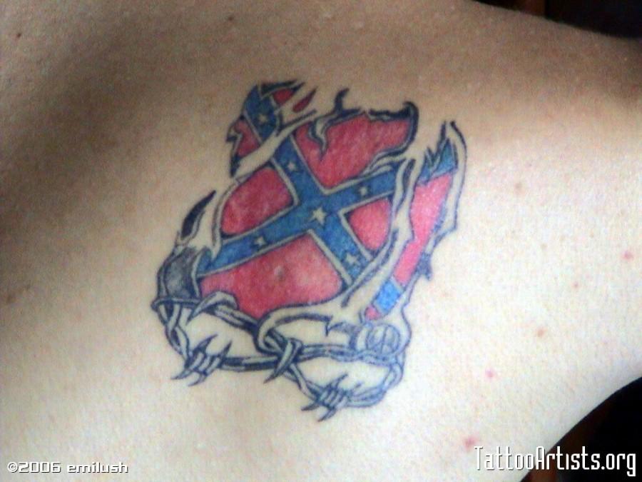 Rebel Flag Tattoo Artists