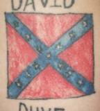 Rebel Flag Tattoos For Girls Confederate Tattoo Design Ideas