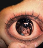 Cool 3D Eye Tattoo Design Ideas