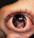 Cool 3D Eye Tattoo Design Ideas