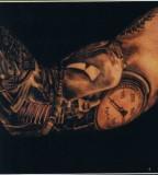 Bold 3D Tattoo Design on Arm for Men