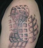 Wonderful 3D Pavel Angel Tattoo