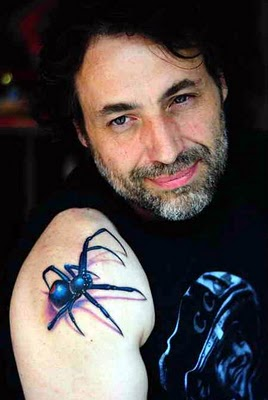 Amzaing and Cool 3d Tattoo Spider