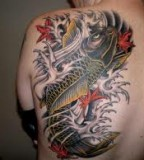 Best On back 3d Tattoo ideas image