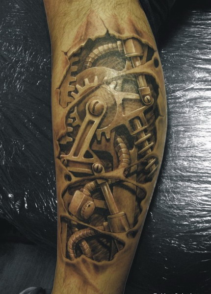 3d  tattoo designs Ideas With Black On Backgrounds
