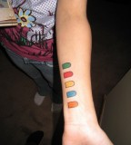 Geeky Guitar Hero Controller Tattoo