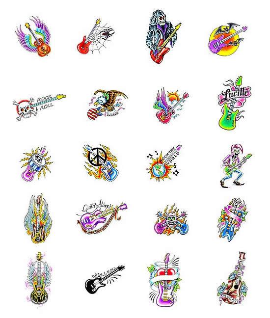 Guitar Tattoos What Do They Mean Guitar Tattoos Designs