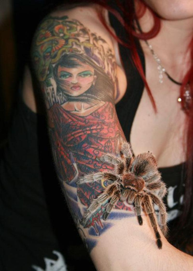 Beautiful Arm Tattoo Design For Girls