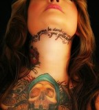 Girls: Amazing Skull Tattoo Chest Round-Up