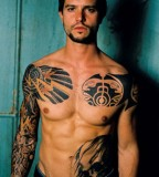 Celeb Jason Behr Tattoos